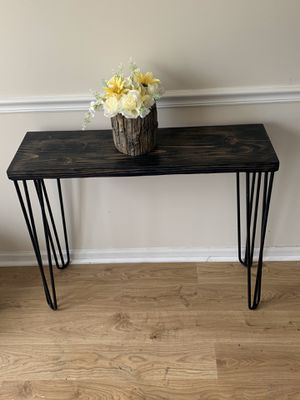 Hairpin console entryway sofa table for Sale in Aurora, IL