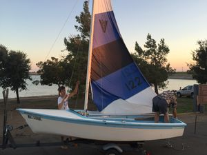 14' Vagabond/Hobie Sail Boat LOTS of NEW Stuff for Sale in Modesto, CA