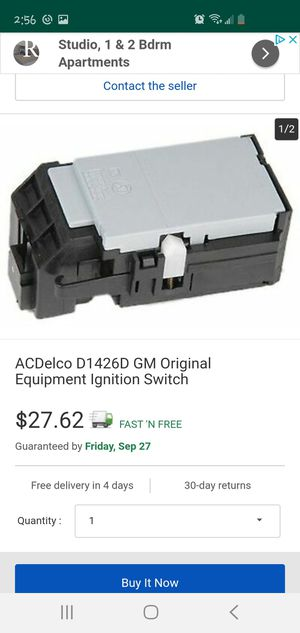 Ignition switch for Sale in Orange, CA
