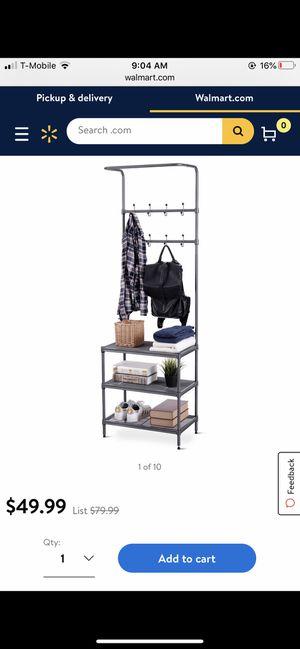 Entrance jacket shelf rack for Sale in Bakersfield, CA
