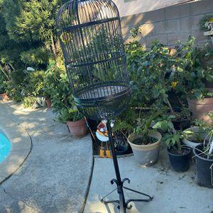 Metal Bird Cage for Sale in Bloomington, CA