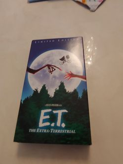 E.T. Limited Edition VHS for Sale in Cleveland,  OH