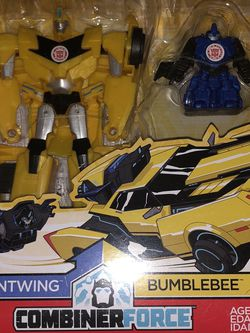 New Transformers RID Robots in Disguise Combiner Force Stuntwing + Bumblebee for Sale in Hillsboro,  OR