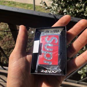 Supreme Swarovski Diamond Zippo Lighter for Sale in Woodbridge, VA
