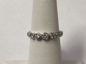 Tiffany platinum diamond ring .35 CTW SIZE4.75 for Sale in Scottsdale, AZ