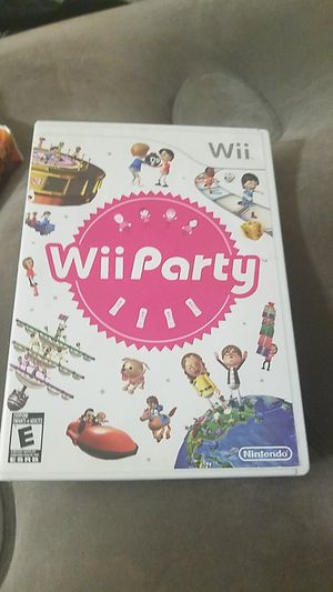 Wii Party wii game for Sale in Everett, WA