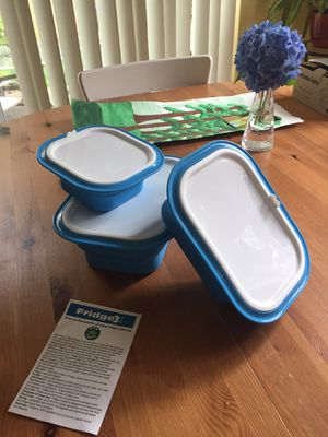 New! Xtrema FridgeX 6 piece collapsible food storage set (non toxic) for Sale in Maple Valley, WA