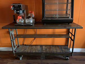 Wine Barrel table, custom made. Used in restaurant $800. for Sale in Salem, NJ
