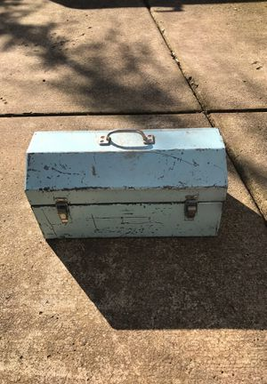 Small blue tool box for Sale in Portland, OR