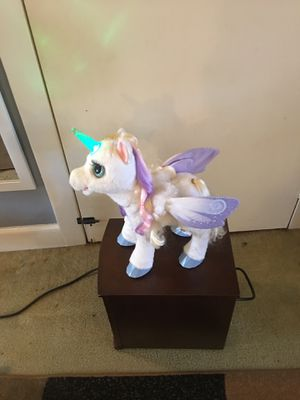 Furreal friends star lily magical unicorn for Sale in Reading, PA