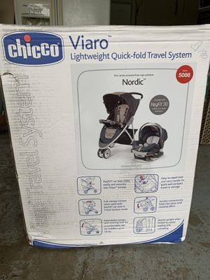 CHICCO/VIARO-baby stroller/brand new unused in original box this unit retails for $350 for Sale in Portland, OR
