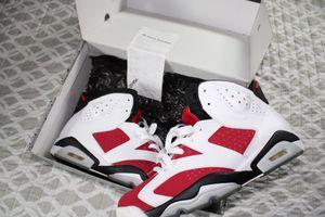 Jordan 6 Carmine for Sale in Chicago, IL