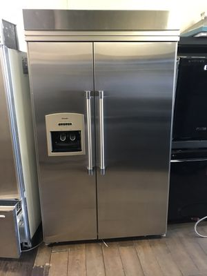 "Thermador 48"" stainless steel side by side built in refrigerator for Sale in Los Angeles, CA"