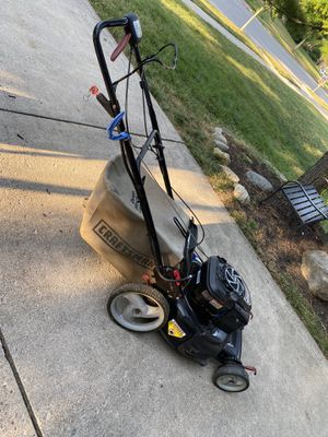 Craftsman lawn mower with mulch bag for Sale in Dublin, OH