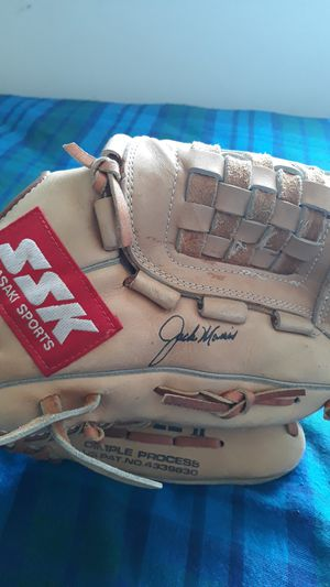 jack morris autographed baseball glove for Sale in Taylor, MI