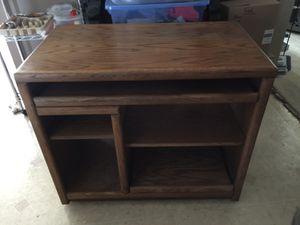Free oak desk for Sale in Hillsborough, CA