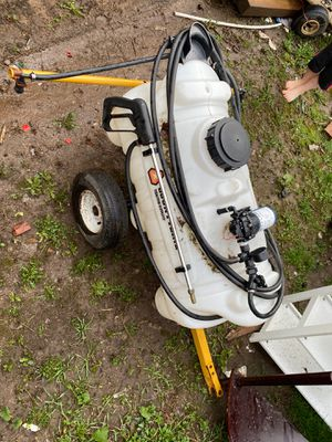 12 volt Lawnmower tow behind for Sale in Columbus, OH