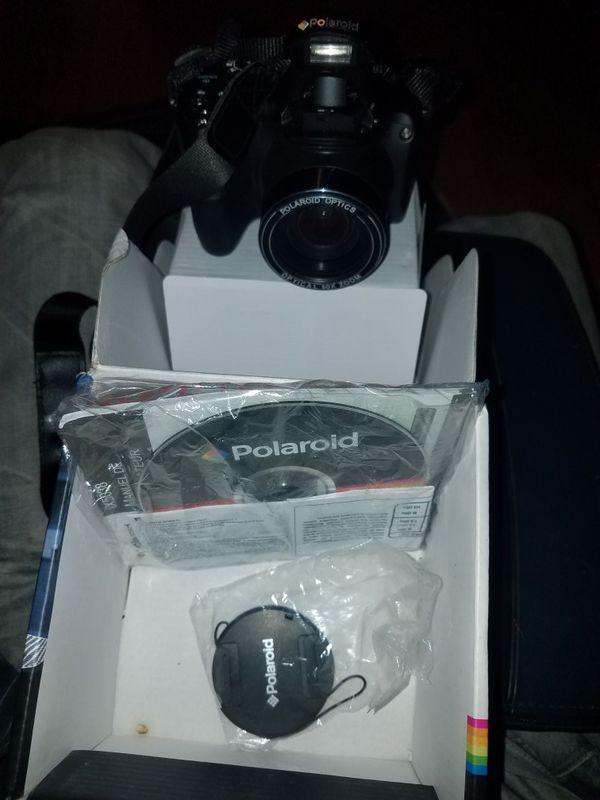Polaroid iX5038 Digital Camera 50x Optical Super Zoom 20 MP Black
