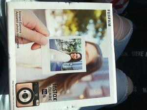 Fujifilm Instax Square SQ 6 Instant Camera and Printer for Sale in Rancho Cordova, CA