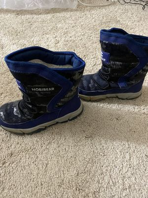 Boys Snow Boots Outdoor Waterproof Winter Kids Shoes for Sale in Germantown, MD