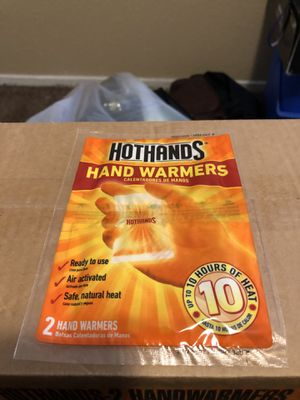 Hot hands hand warmers (case) $10 for Sale in Longview, TX