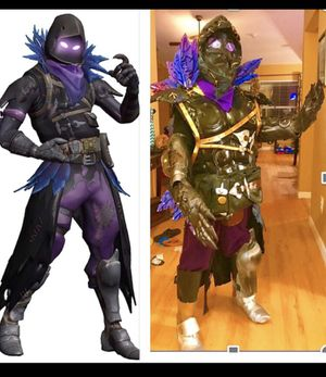 """""""Raven"""" (FortNite) cosplay/costume for kids or adults. One of a kind, custom-made. for Sale in Parrish, FL"""