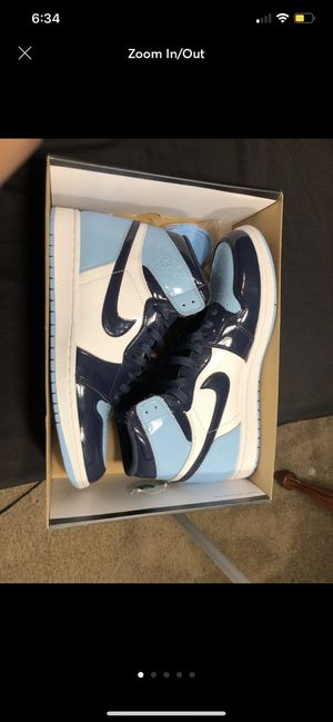 Nike Air Jordan 1 UNC Patent Blue Chill for Sale in Beverly Hills, CA