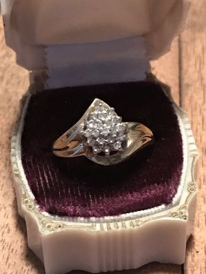 10k Gold Diamond Ring for Sale in North Versailles, PA