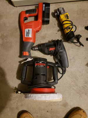 Tools.. drill,grinder,buffet, sawza for Sale in Springfield, MA