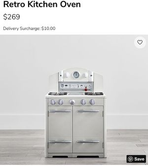 Pottery Barn Kids Retro Kitchen Oven, White for Sale in Stockbridge, GA