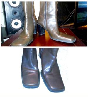 Bandolino Leather Boots brown size 8 for Sale in Austin, TX
