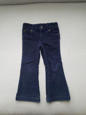 Ralph Lauren girls navy blue corduroy pants 4T for Sale in Huntersville, NC