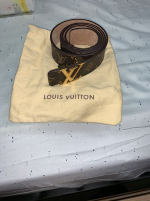 Authentic Louis Vuitton belt for Sale in Stoughton, MA