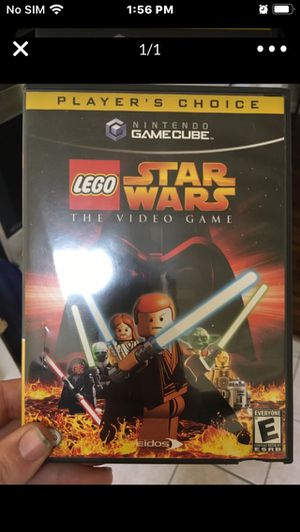 Game cube game Star Wars LEGO $10 for Sale in Tulsa, OK