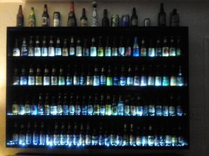 Huge Beer Bottle/Can/Glass Collection W/Lighted Display for Sale in North Port, FL