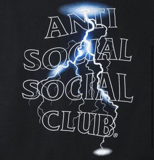 Anti Social Social Club Twister tee reflective 3M for Sale in HALNDLE BCH, FL