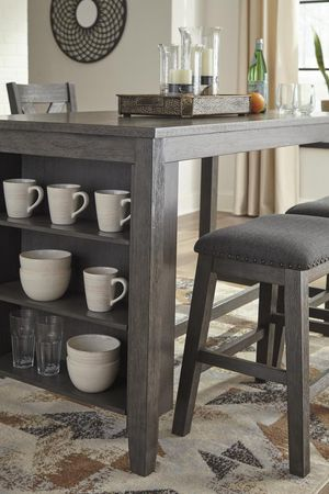 ✅IN STOCK ✅💕Caitbrook Gray Counter Height Set💕🏆39 DOWN 🏆 for Sale in Austin, TX
