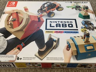 New Labo Toy-Con: Vehicle Kit for Nintendo Switch for Sale in Lynnwood,  WA