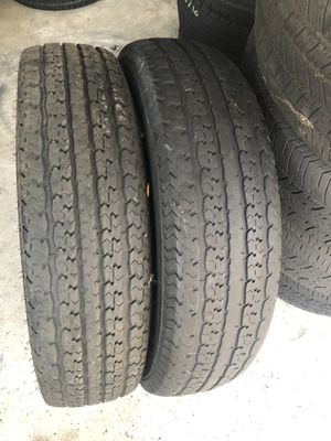 235/80/16 Trailer Tires for Sale in Highland, CA
