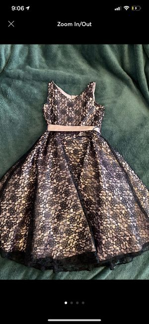 Girls purple floral dress 8 for Sale in Queens, NY