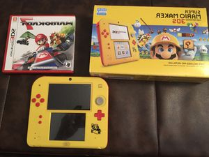 Nintendo 3ds super Mario maker and Mario kart 7 for Sale in Tamarac, FL