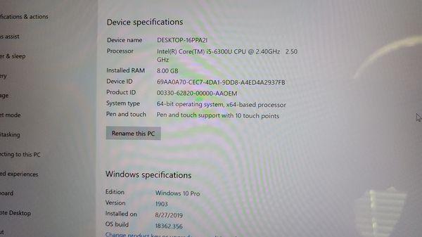 Microsoft Surface Pro 4 - 256 GB