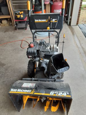 Yard Machine Snow Blower for Sale in Charles Town, WV