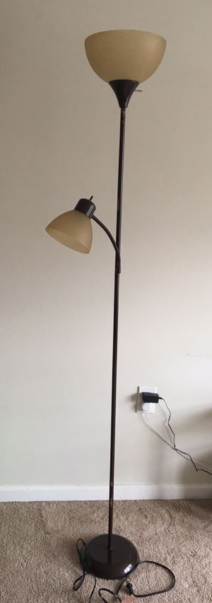 Stand lamp with day light LED bulbs for Sale in Lynchburg, VA