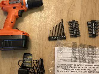 BLACK+DECKER GC1800VA Cordless Drill/Driver for Sale in Sunnyvale,  CA