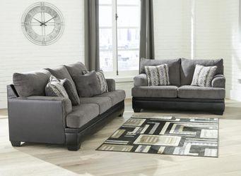 Millingar Smoke Living Room Set for Sale in Houston,  TX