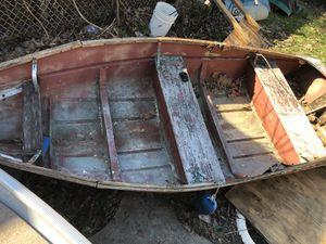 1950 12ft Arkansas traveler aluminum boat with title for Sale in Park Ridge, IL