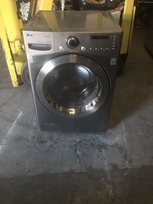 Washer brand LG everything is good working condition 90 days warranty delivery and installation for Sale in San Leandro, CA