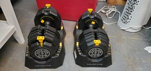 New Golds Gym 110lbs Sele t A Weight Dumbbells for Sale in Garland, TX