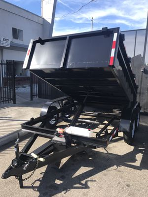 Brand new 8x10x2 dump trailer for Sale in Rancho Cucamonga, CA
